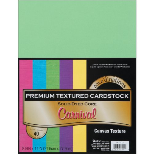 Darice Core'dinations Value Pack Cardstock 8.5