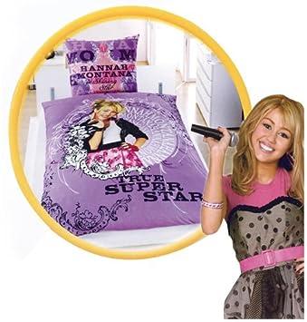 Disney Bettwäsche Hannah Montana Shining Star 135 X 200 Bettbezug
