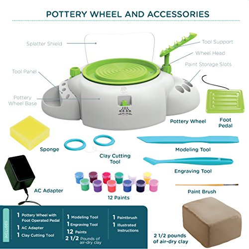 Pottery Wheel For Beginners by MindWare (Image #7)