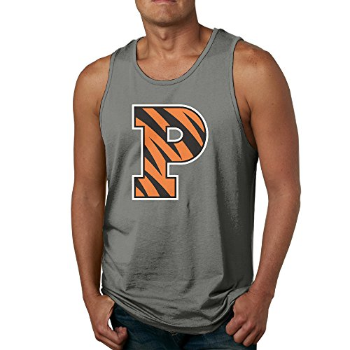 Price comparison product image Men's Princeton Tigers Logo Tank Top-DeepHeather