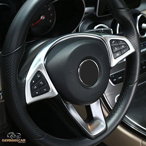 Lenkrad Blende Abdeckung Rahmen Chrom Matt Für W213 E Klasse Auto