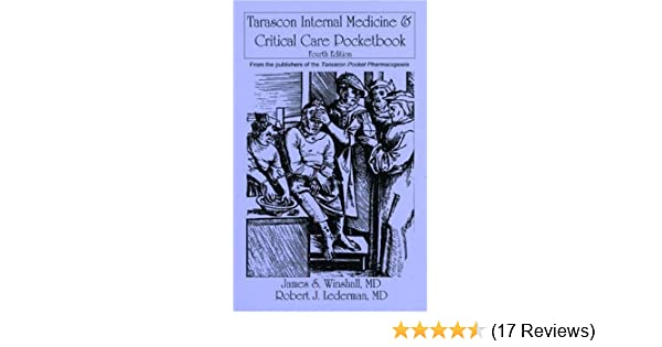 Tarascon internal medicine critical care pocketbook fourth tarascon internal medicine critical care pocketbook fourth edition 9781882742509 medicine health science books amazon fandeluxe Images