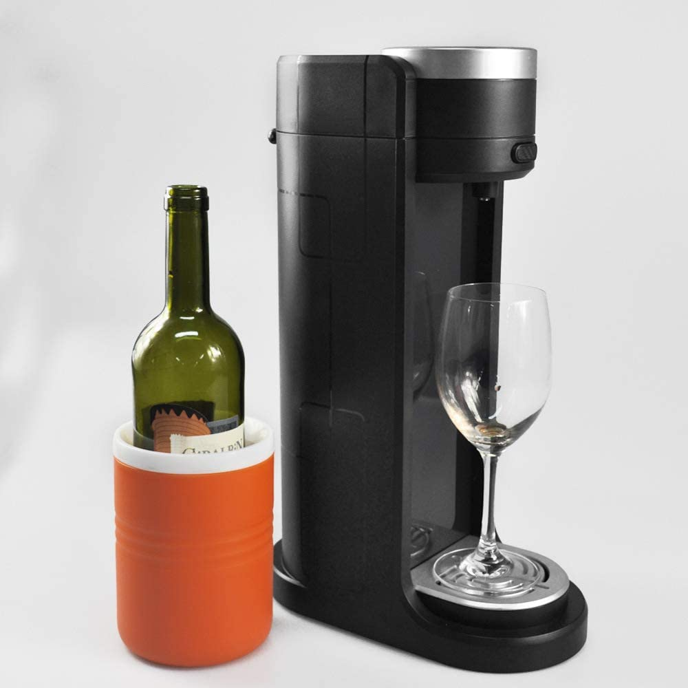 Decantatore Automatico Per Vino Con Aerazione Elettrica E Decanter Decanter Per Vino Intelligente Rosso,Black