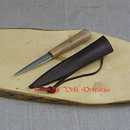 La edad media cuchillo{1200} -{1400} incluye funda de piel ...