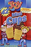 Joy Mini Cups; Mini Ice Cream Cones for Kids, 42 Count (2 Boxes (84 cones)) 1.6 OZ (45G)