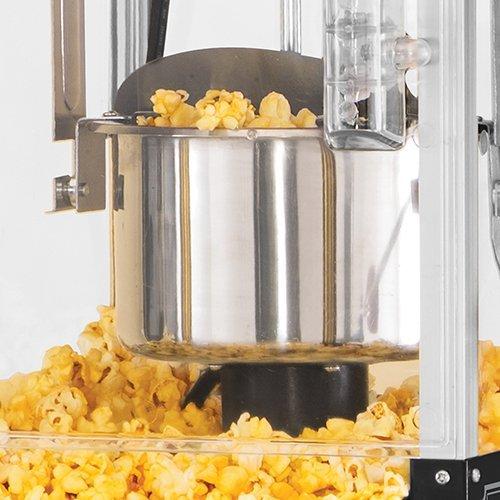 Nostalgia KPM200CTBK Vintage 2.5-Ounce Popcorn Cart with 5-Quart Bowl-45-Inches Tall, 2.5 oz, Black by Nostalgia (Image #2)