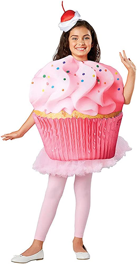 Seasons Direct Halloween Children Cupcake Confetti Costume  4-6 US