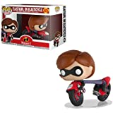 Funko Collectible Figure Pop Ride Disney Incredible 2 with Last Cycle