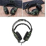 SADES Universal Over Ear Stereo Gaming Headset with Mic (SA931) - Green