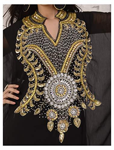 Jalabiya Dress Top Caftan Farasha OKM Abaya Dubai Style Navyblue Long Kaftan Women's Maxi qwqYv6P