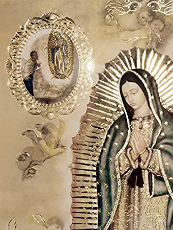 27x40 Our Lady of Guadalupe Apparitions Religious Wall Art Print Poster