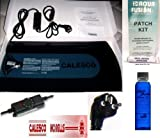220 Volt Euro Waterbed Heater w/ Control, Heater pad, 4oz of Premium Clear Bottle Conditioner & a Patch Kit