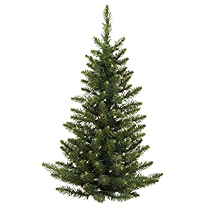 Vickerman Unlit Camdon Fir Half Tree 4