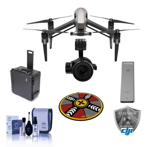 DJI Inspire 2.0 Quadcopter Combo, Includes Zenmuse X5S Camera Gimbal, Remote Controller, CinemaDNG and Apple ProRes License Key, CineSD 120G for Inspire 2, Care Refresh Warranty And More