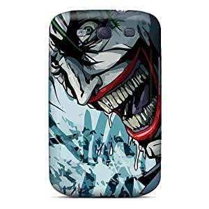 Protection Case For Galaxy S3 / Case Cover For Galaxy(the Joker Smiling)