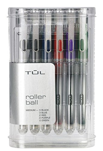 TUL Rollerball Pens, Assorted 12/pk