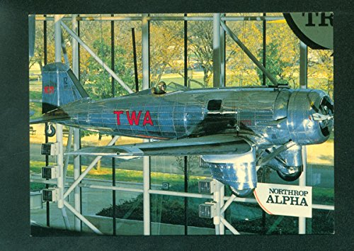 Northrop Alpha TWA Airplane Continental -