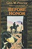 img - for BEFORE HONOR (A Double D Western) book / textbook / text book