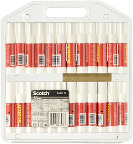 Scotch Permanent Glue Sticks (6008-24C) 24 PACK Photo #3