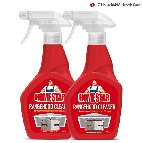 [LG][Homestar Max] Range Hood Filter Cleaner, Remove Embedded Stains From Filters - 2pack, 960ml