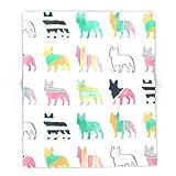 Society6 French Bulldogs 88'' x 104'' Blanket