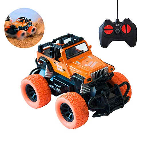 MARKKEER Remote Control Car, Buggy RC Car 2.4Ghz 4WD High Speed All Direction Drive with 4 Channel Remote Control,1:28 Monster Truck Vehicle Toy for 3 Years Old Up Kid