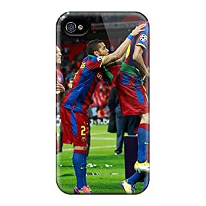 DWFPccR2143qepBA The Halfback Of Barcelona Sergio Busquets Victorious Again Awesome High Quality Iphone 4/4s Case Skin