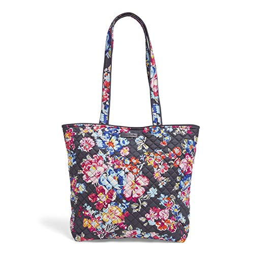 Vera Bradley Signature Cotton Tote Bag, Pretty Posies