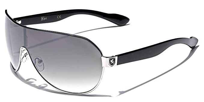 2b6825c74d3 Image Unavailable. Image not available for. Color  Men s Flat Top Sport  Shied Aviator Sunglasses ...
