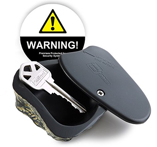 Warning Set Decal - Rock Key Hider (Grey Tone) & Warning Decal Set