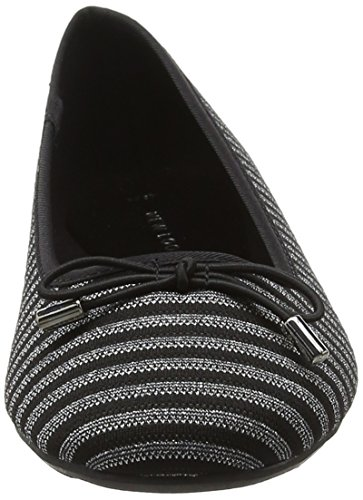 Kalum Pattern Black New Black Toe Closed Look Flats Women's 9 Ballet ffEA6q