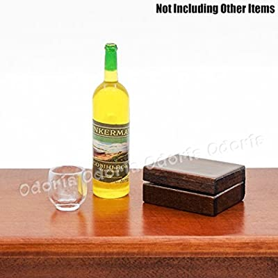 Odoria 1:12 Miniature Cigar Humidor Dollhouse Decoration Accessories: Toys & Games