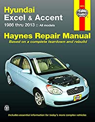 Image of the product Hundai Excel & Accent that is listed on the catalogue brand of Haynes Manuals Inc.