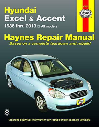 (Hundai Excel & Accent 1986 thru 2013: All Models (Haynes Repair)