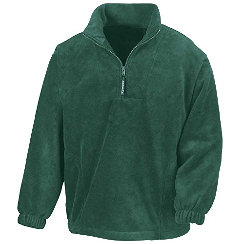 Forest Mens Half Result Jackets Active Zip Fleece Own4qY