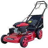 PowerSmart DB8631 Gas Self-Propelled Mower, Red/Black