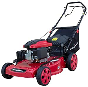 PowerSmart DB8631 Gas Self-Propelled Mower, Red/Black