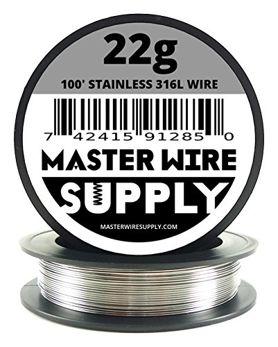 Stainless Steel 316L - 100' - 22 Gauge Wire ()