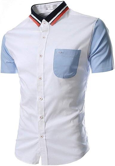Camisa De Hombre Camisas Blusa De Verano Casual Camisa Modernas Camisa De Corte Slim Camisa De