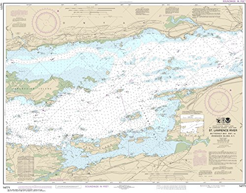NOAA Chart 14771 Butternut Bay, Ont., to Ironsides l., N.Y.: 28.52