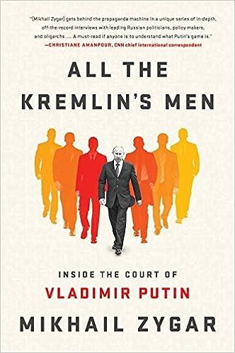 All the Kremlins Men: Inside the Court of Vladimir Putin: Amazon.es: Mikhail Zygar: Libros en idiomas extranjeros