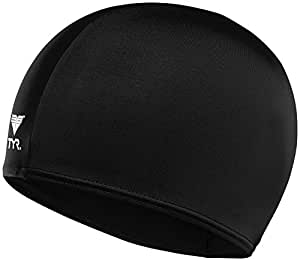 TYR Lycra Swim Cap, Black