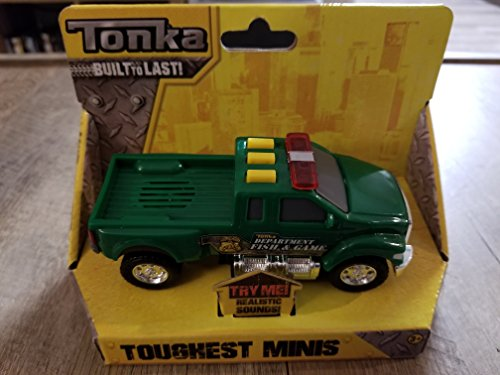 Tonka Toughest Minis Pickup Truck Dept Of Fish And Game