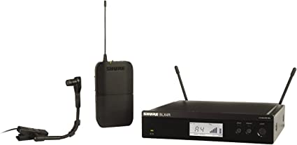 Shure PGXD14//BETA98H-X8 Digital Instrument Wireless System with BETA98H//C Clip-on Microphone
