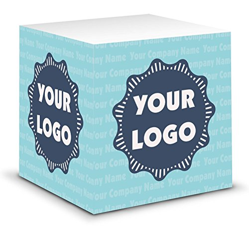- Logo & Company Name Sticky Note Cube (Personalized)