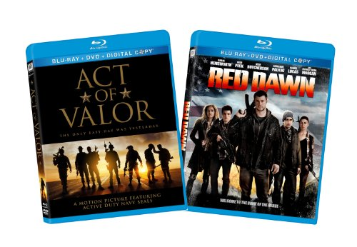 Red Dawn (2012) / Act of Valor (Two-Pack) [Blu-ray] (Act Of Valor Bluray)