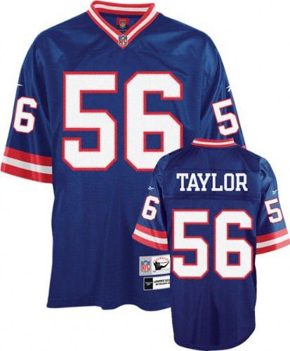 Lawrence Taylor New York Giants Throwback Jersey Medium (Polyester Jersey Throw)