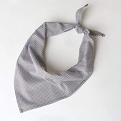093f1ff441237 Amazon.com: Chefwear Neckerchief - Bandana-Like Chef Accessory 100% Cotton,  European Houndstooth: Kitchen & Dining