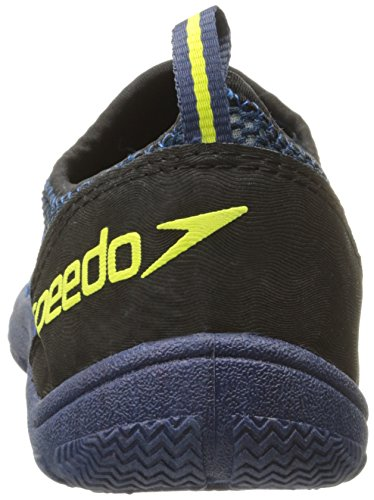 wholesale dealer 8bc75 77ced Speedo Men s Seaside Lace 4.0 Water Shoe, Black Blue, 14 M US   Water Sport  Authority