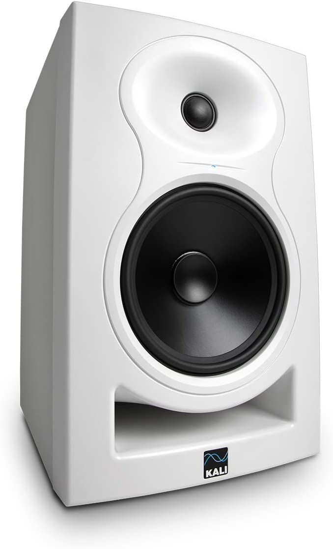 6.5 Inch Powered Studio Monitor, White 514%2BfEeyI9L